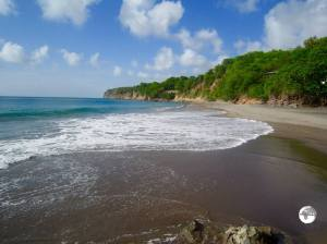 Who needs a white-sand beach? Beautiful Woodlands Bay Beach.