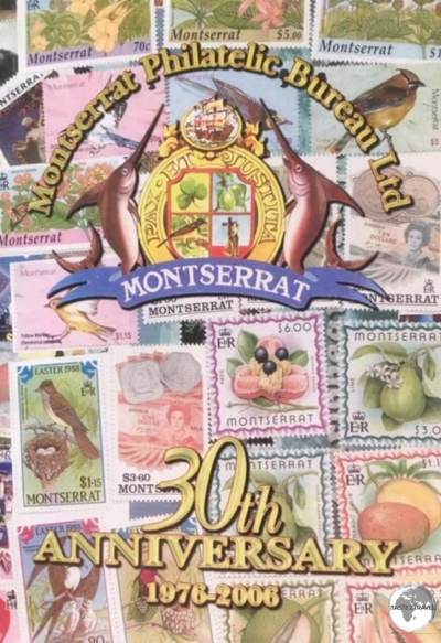 The special commemorative booklet which was produced for the 30th Anniversary of the Philatelic Bureau.
