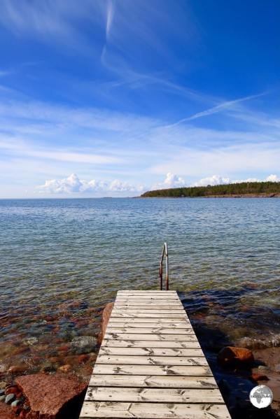 The coast of Sweden is just 38 kilometres from Degersand beach.