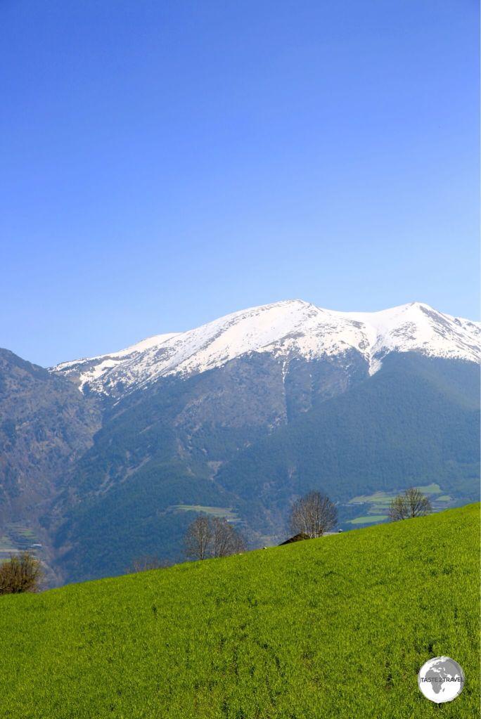 Panoramic views around every corner in Andorra.