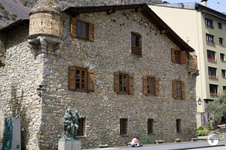 "Originally built as a manor house, the 16th century ""Casa de la Vall"" previously housed the General Council (Parliament of Andorra)."