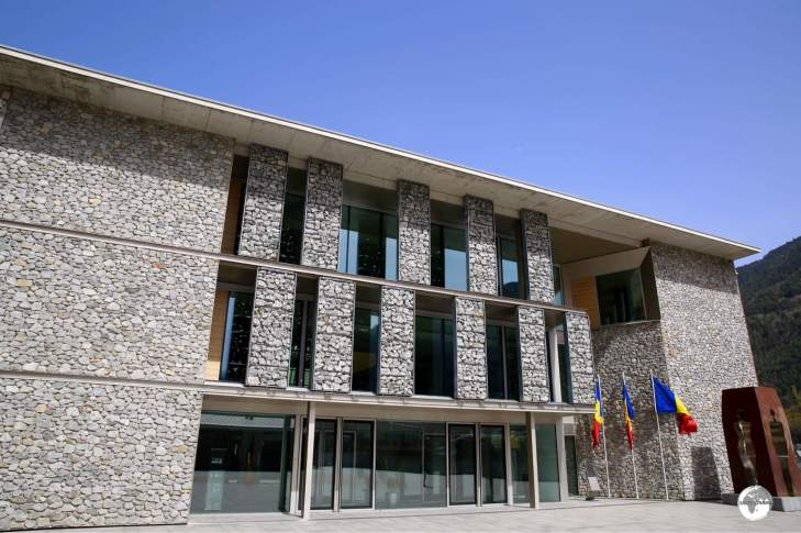 The New General Council - the parliament of Andorra.