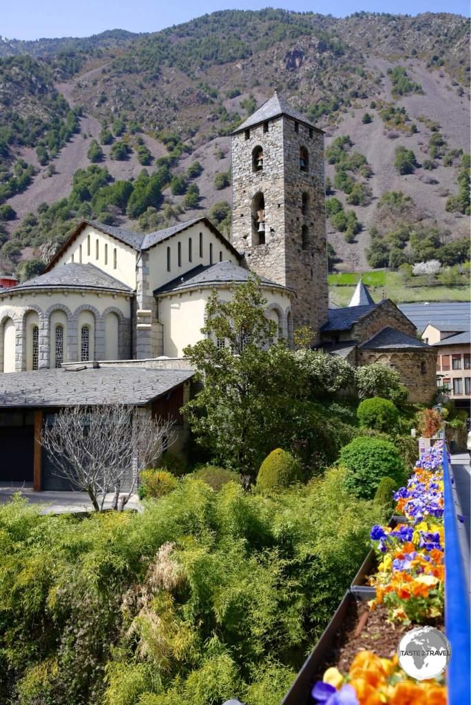 Sant Esteve church was built in the 11th-12th century.