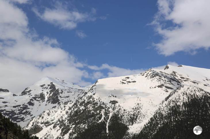 More incredible views - this time from the Arinsal ski resort.