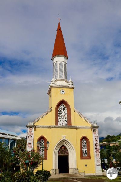 Papeete Catholic Cathedral.