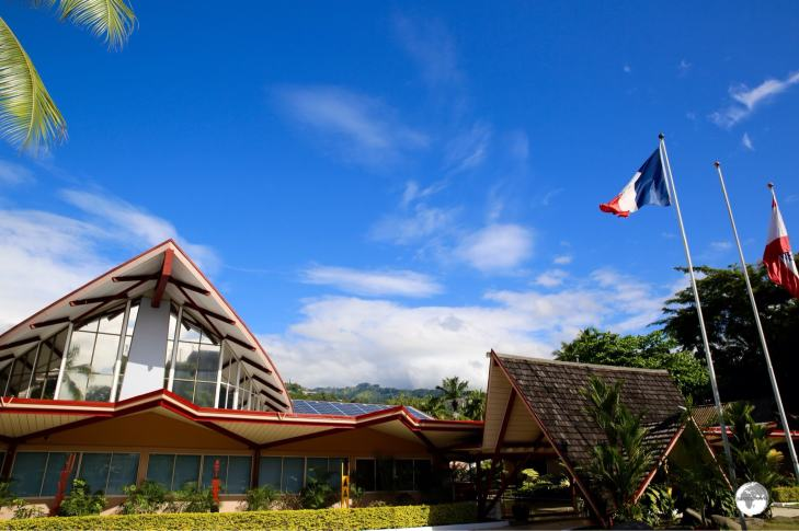 The parliament of French Polynesia - the Territorial Assembly.