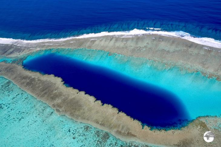 Blue Hole of Voh, New Caledonia.