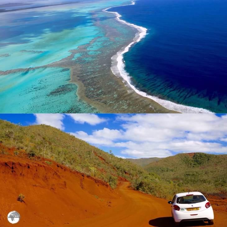 La Grande Terre is an island of stark contrasts.