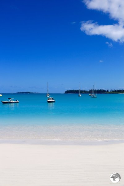Picturesque Kuto Bay on the Isle of Pines.