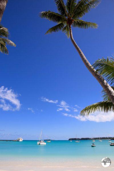 A true paradise! Kuto Bay on the Isle of Pines.