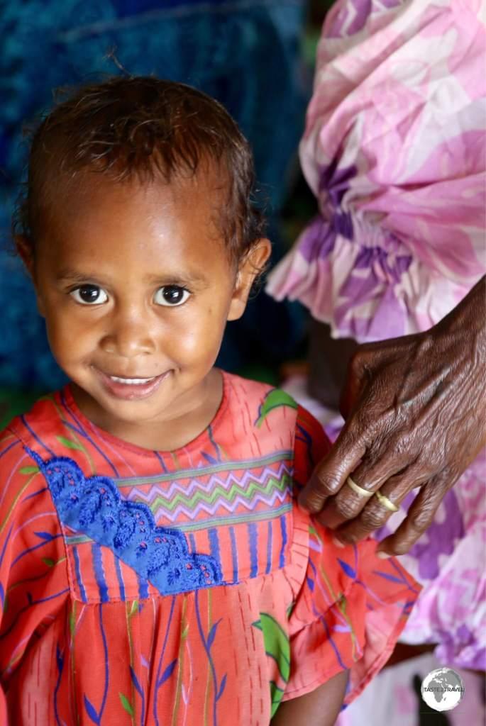Lots of warm, friendly smiles in Vanuatu.