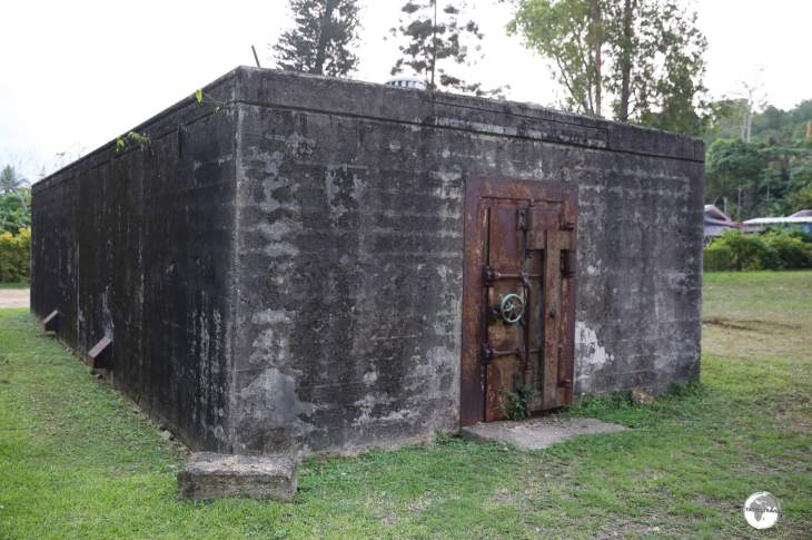A former US military vault which once stored the salaries of US troops.