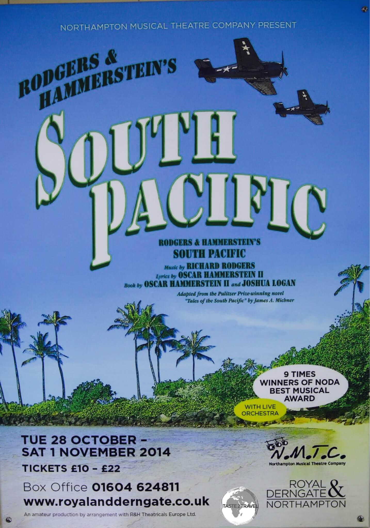 Tales of the South Pacific was written by James A. Michener during his time on Santo.