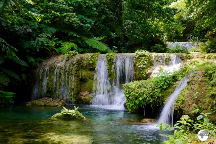 Mele waterfalls are wonderfully refreshing but not especially cheap!
