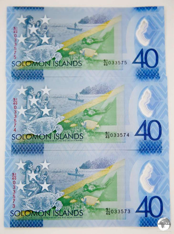 A limited edition SI$40 note was released to commemorate 40 years of independence in 2018.