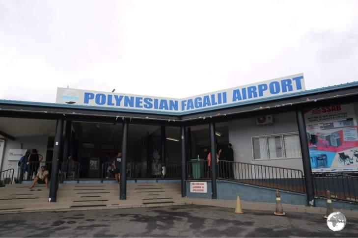 The terminal building at Fagali'i Airport.