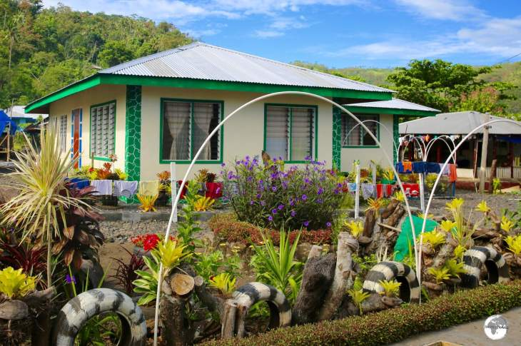 Samoans love gardening and take great care with the appearance of their houses and villages.