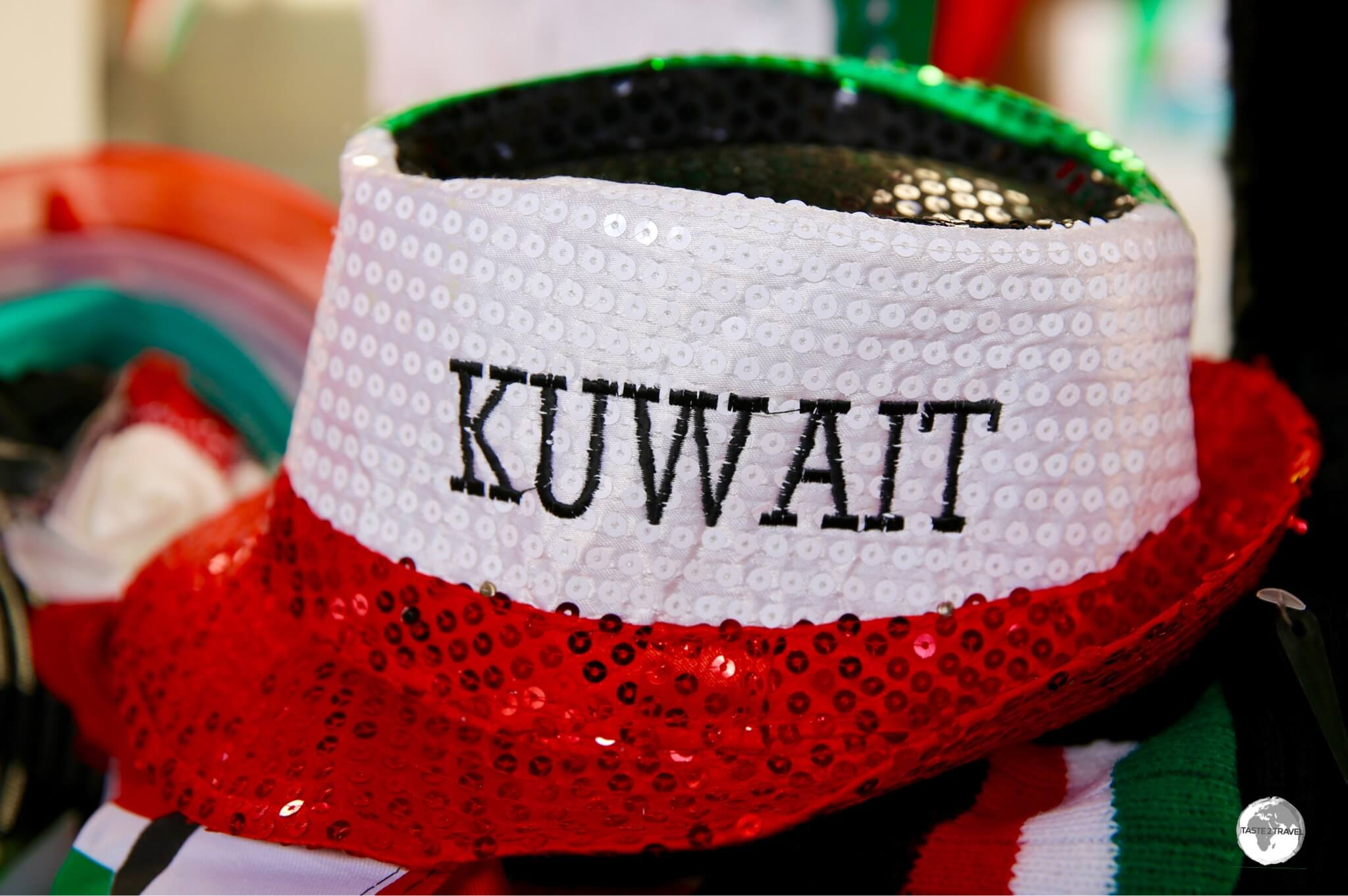 Kuwaitis are very patriotic, with their flag featured on all sorts of merchandise.