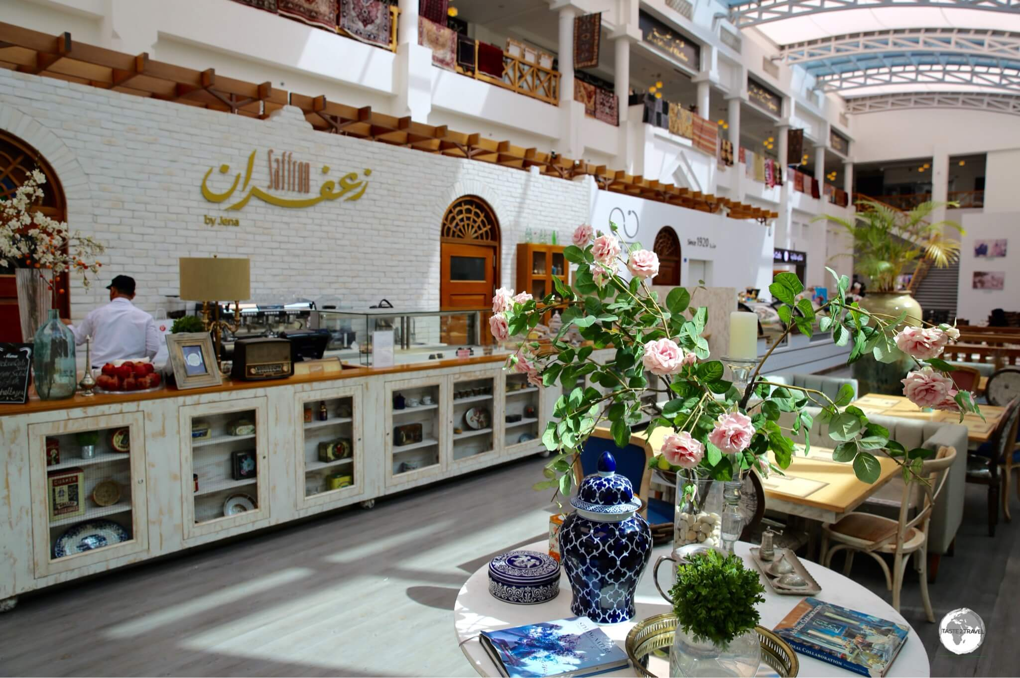 'Saffron by Jena' offers superb local cuisine at their Bab Al Bahrain Mall branch.