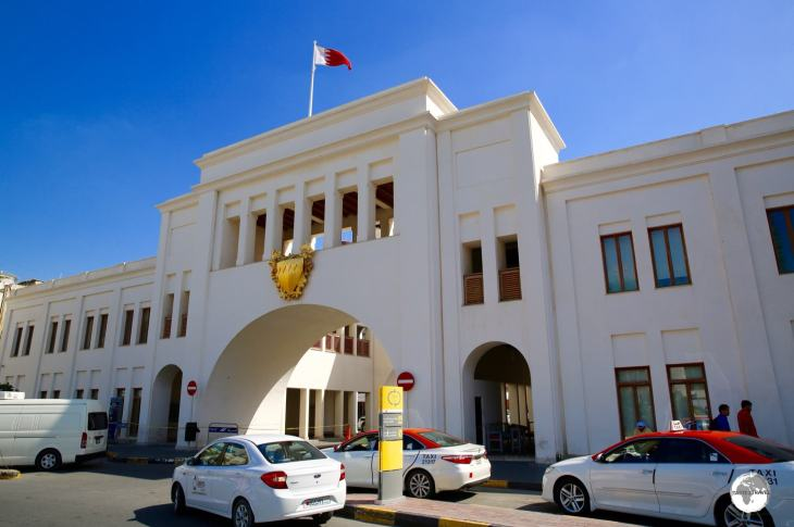 All roads lead to Bab Al Bahrain.