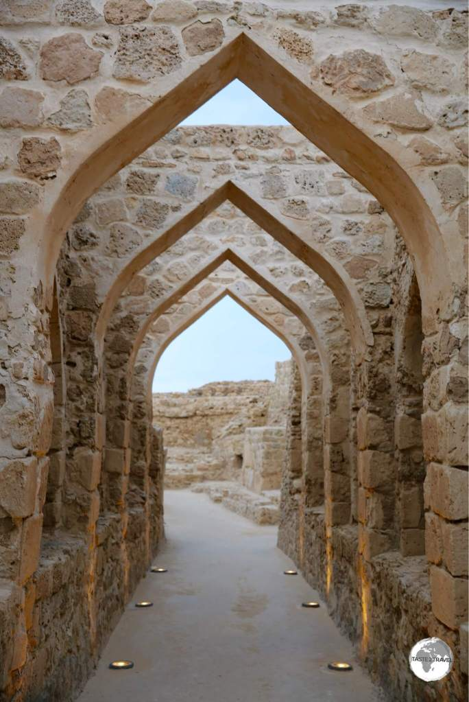 The historic Bahrain fort once served as the capital of the Dilmun civilisation.