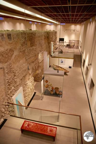 Displays at the Bahrain Fort museum are beautifully arranged in chronological order, covering 5 different periods of history.