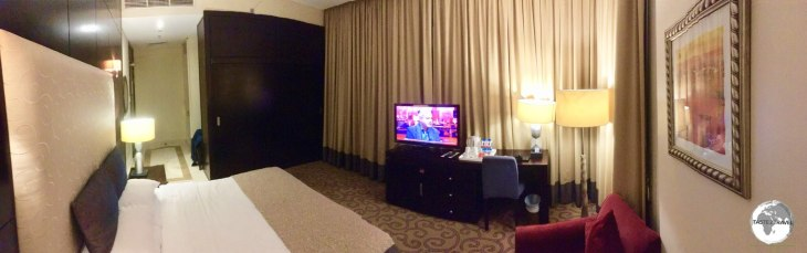 My room at the Century Hotel in Doha.