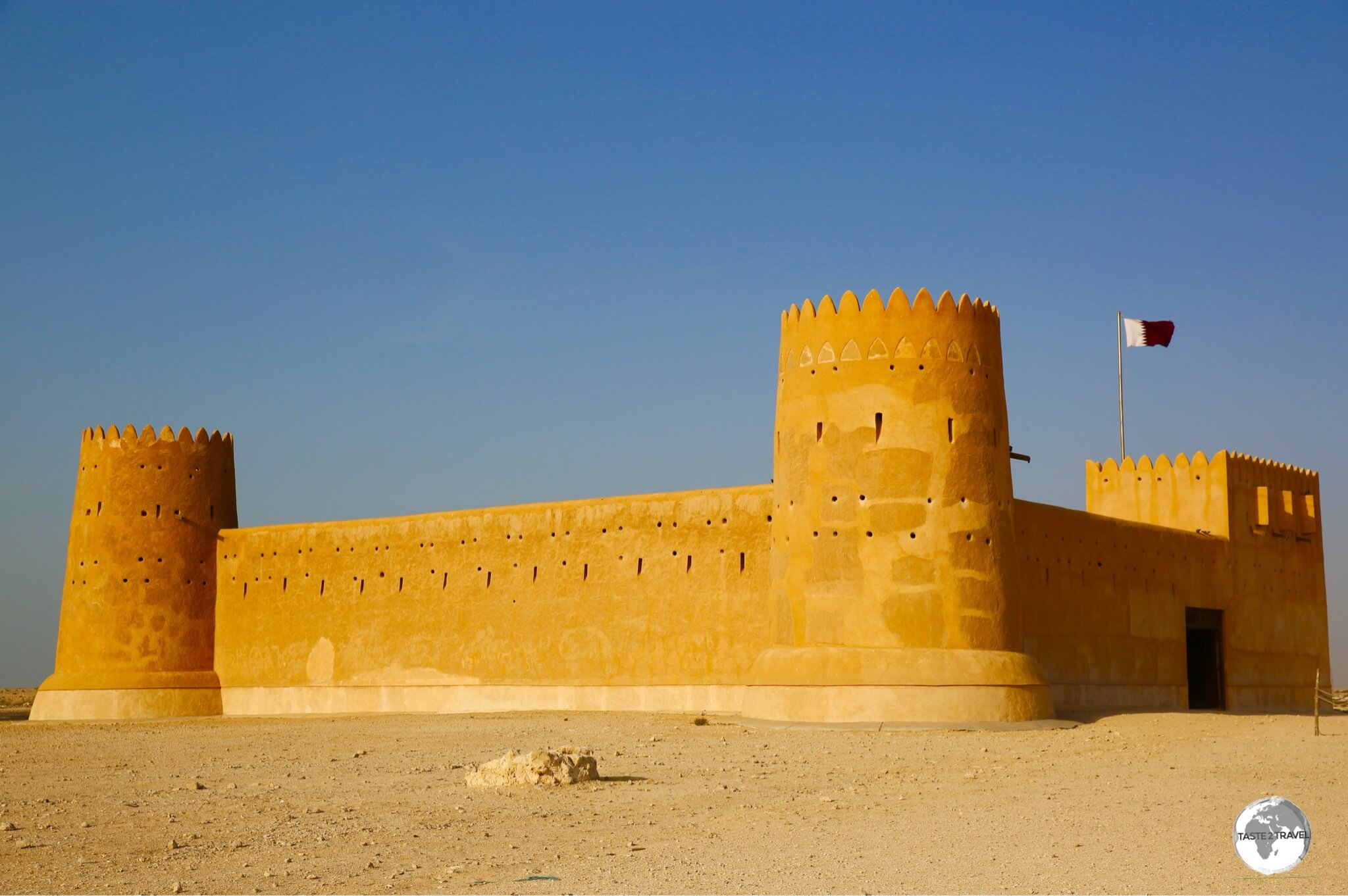 Al Zubarah Fort is Qatar's only UNESCO World Heritage site.