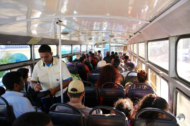 Mauritius Travel Guide: Bus fares in Mauritius are always paid to the conductor.