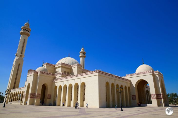 The Al Fatih mosque is the principal mosque in Bahrain.