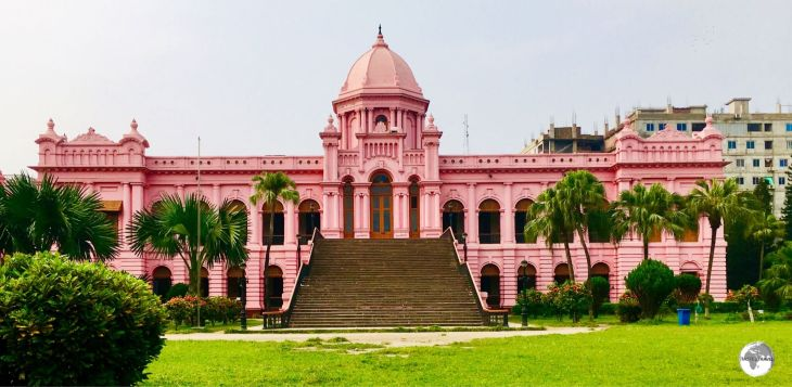 The Pink Palace (Ahsan Manzil) museum.