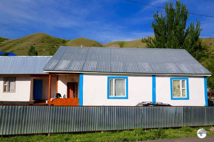 My family home stay in the small village of Karabulak.