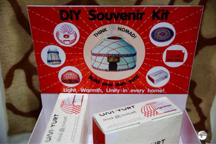 You too can be a nomad with a 'DIY Yurt Kit' - a popular item at Saima.