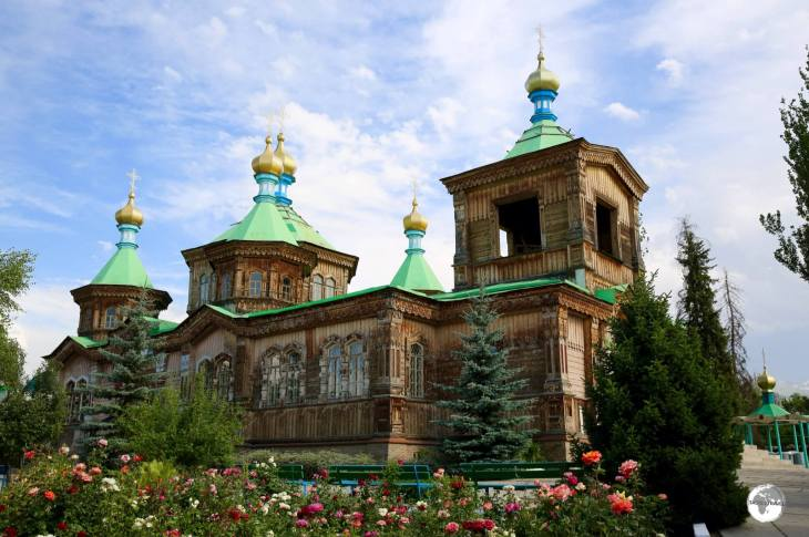 The Russian Orthodox, Holy Trinity Cathedral, is one of the highlights of Karakol.