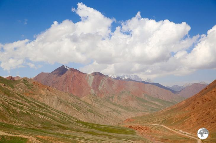 One last view of Kyrgyzstan, from the Kyzylart Pass, before crossing into Tajikistan.