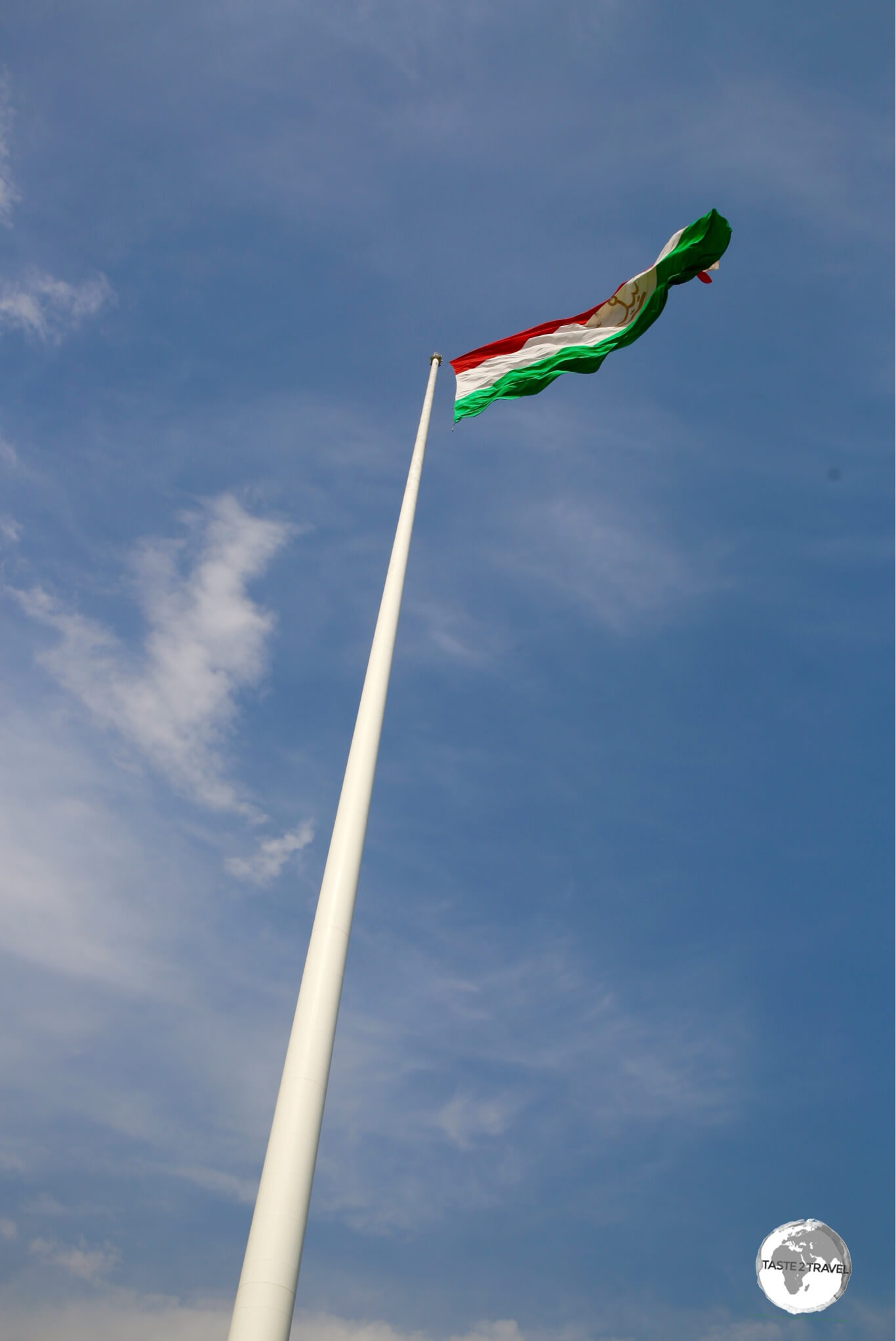 At 165 metres (541 feet), the Dushanbe flagpole is the 2nd tallest in the world.