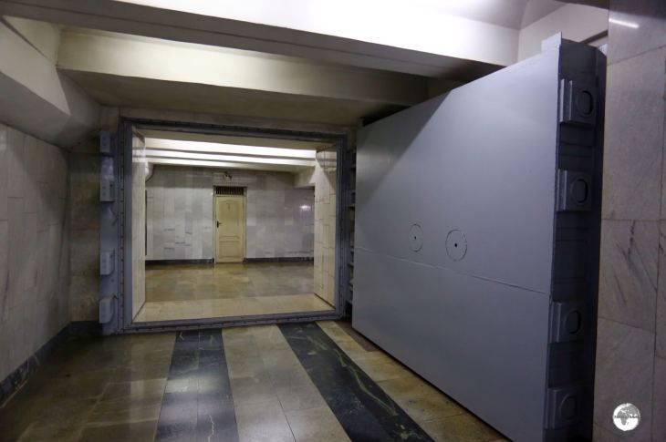 Uzbekistan Travel Guide: All Tashkent metro stations were built to serve as nuclear bomb shelters and are fitted with bomb-proof doors at all access points.