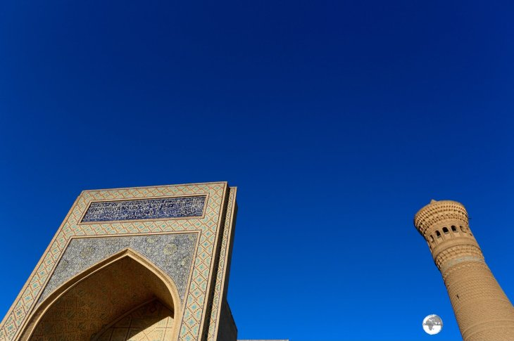 The Kalyan Mosque and Minaret in Bukhara.