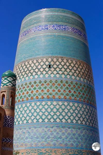 The incomplete Kalta-minor Minaret in Khiva.