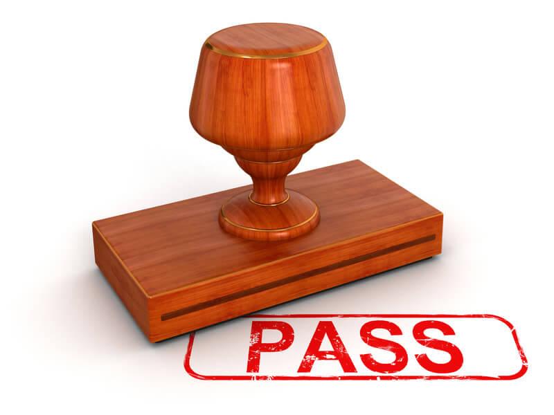 Pass Stamp.