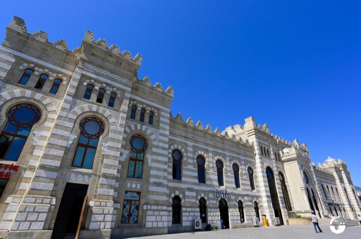 The historic Baku Central Train Station.