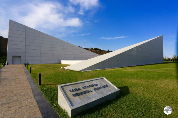 The striking Quba Genocide Memorial Complex is located on the outskirts of town.