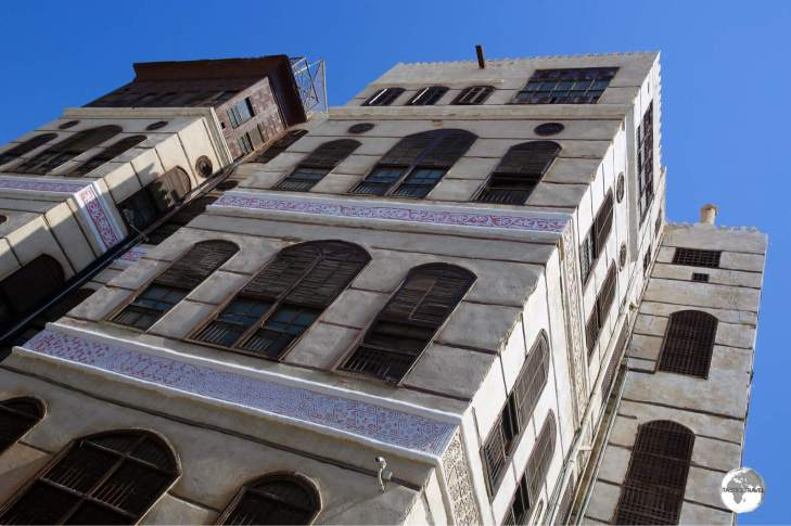 The historic Nasseef house lies at the heart of the Al Balad district.