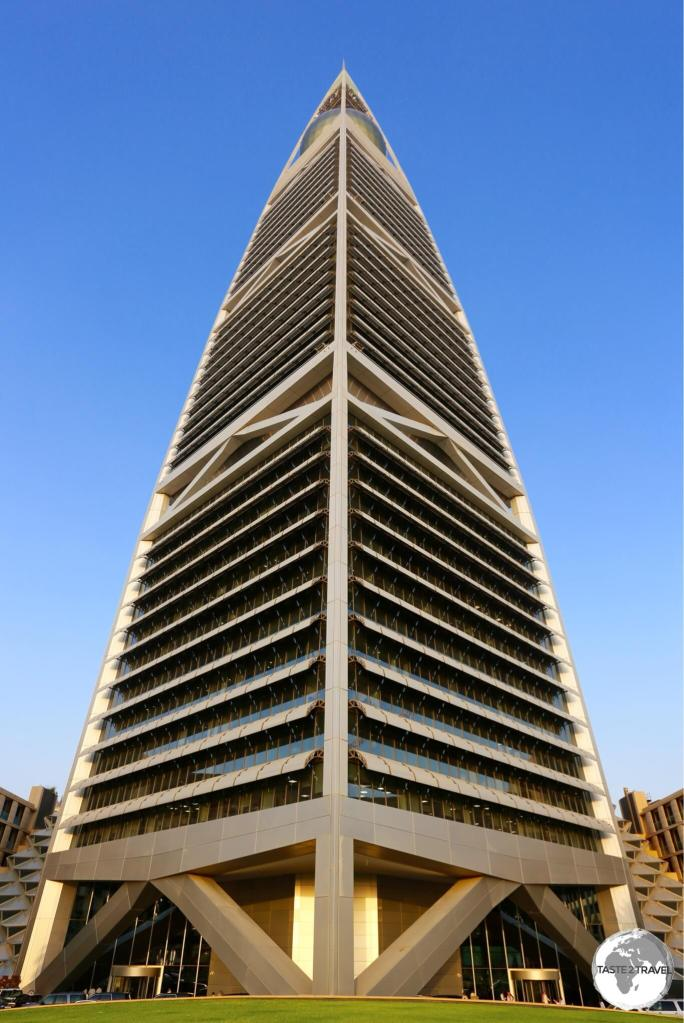 The Norman Foster-designed Al Faisaliah Tower.
