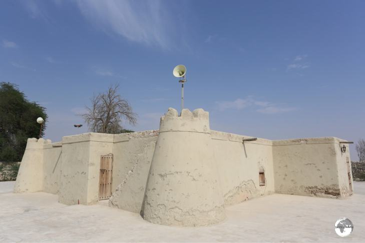 The historic Jawatha mosque, the first mosque built in Eastern Saudi Arabia.