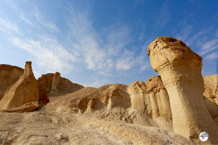 An isolated mesa, Al Qarah Mountain is a key attraction in the Al-Ahsa oasis.