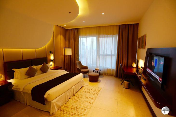The Best Western Arch Hotel in Juffair, Bahrain.