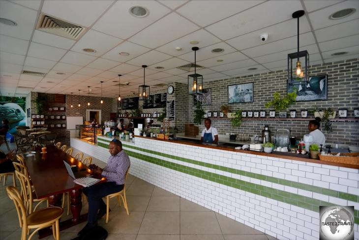 Located on the harbour-front in Port Moresby, this branch of Duffy café was my go-to café while in the capital.