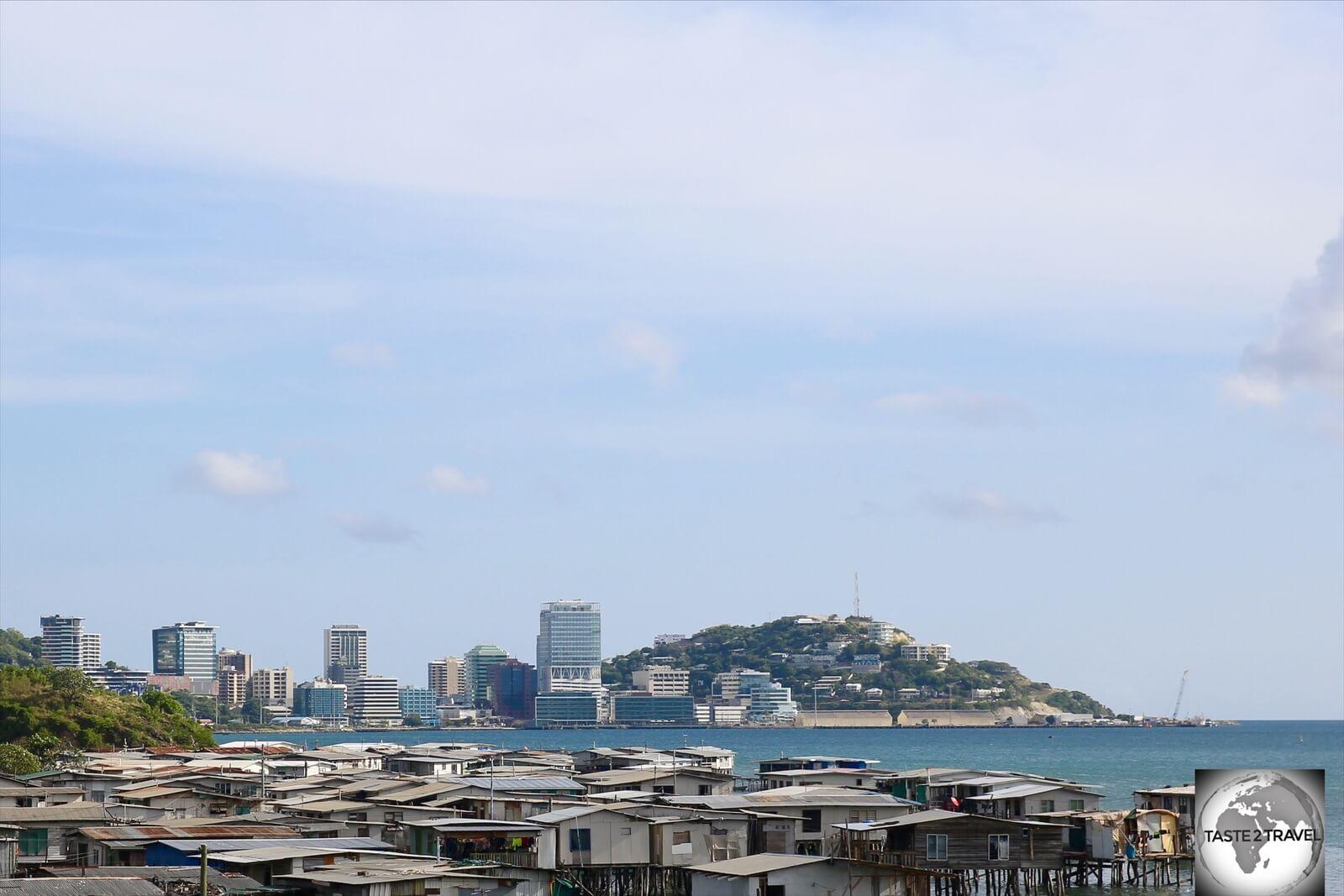 Hanubada stilt village is the closest stilt village to downtown Port Moresby.