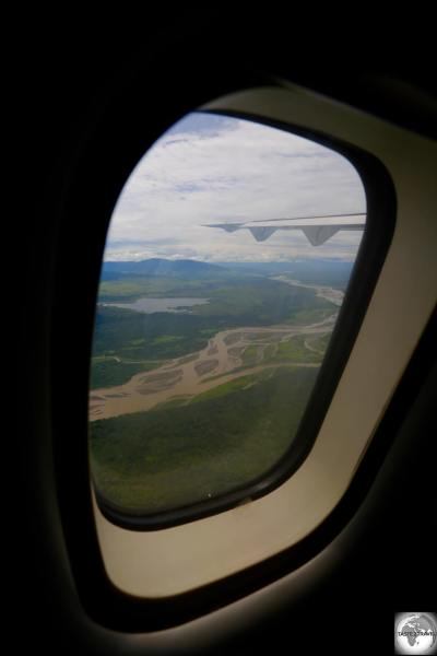 A view from my PNG Air flight from Madang to Lae.